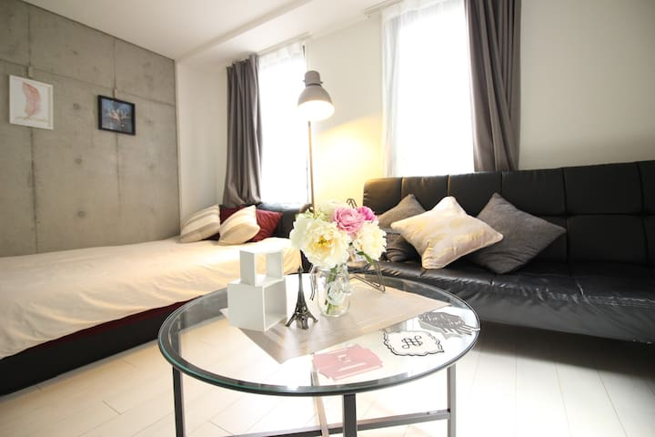 WIFI★Beautiful newly built room/Roppongi/Shibuya/