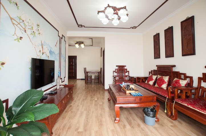 【悦诗】中国风两居室公寓
