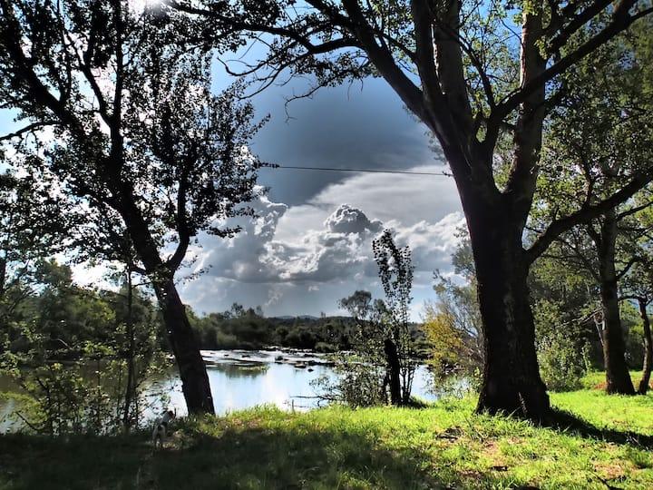 Die Eiland Vakansie Oord River house