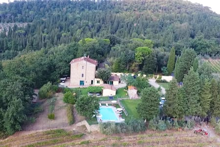 Charming studio/apartment, countryside of Florence - Scandicci - Flat