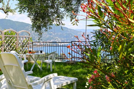 Andromeda 1st Floor - Panorama, parking and WiFi - Rapallo