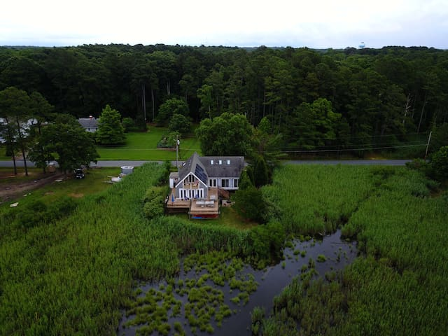 Beautiful Chesapeake Bay Home, Sunsets on the Deck