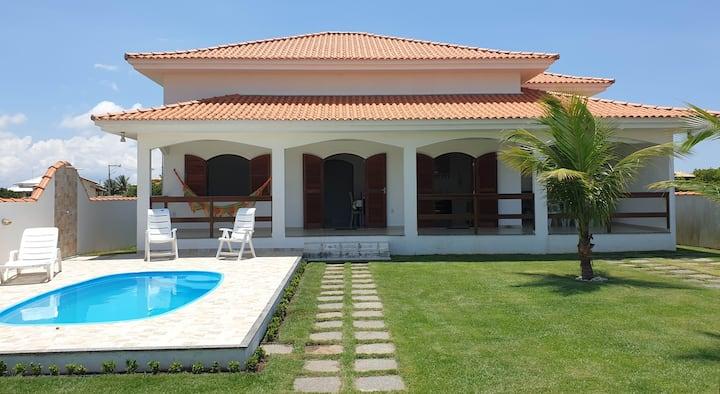 Bellissima villa con piscina e barbecue