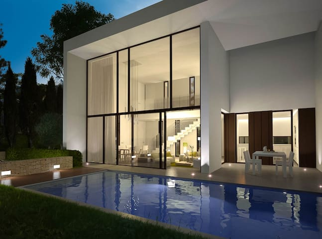 Poolside Designer Villa, Moraira.