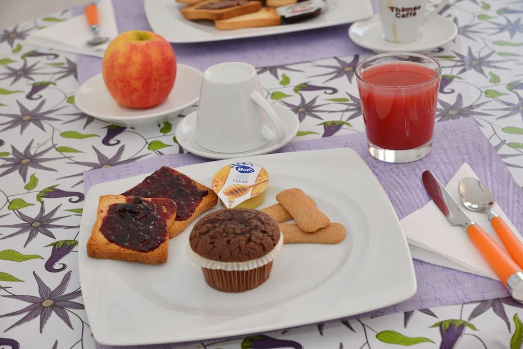 La nostra colazione