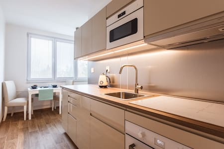 Spacious and sunny apartment for whole family