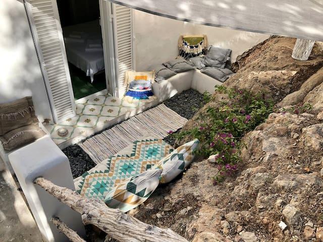 Ibizenco Apt./ garden lounge/ 200m to the beach