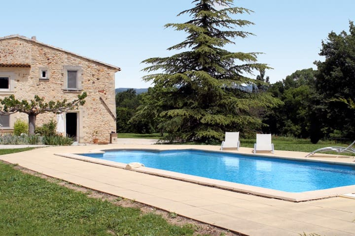 Ruhiges Landhaus mit Pool, Roussillon (723 ROU) - Roussillon - House