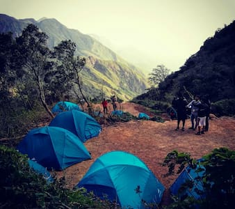 Jungle Camp at Munnar - Kannan Devan Hills
