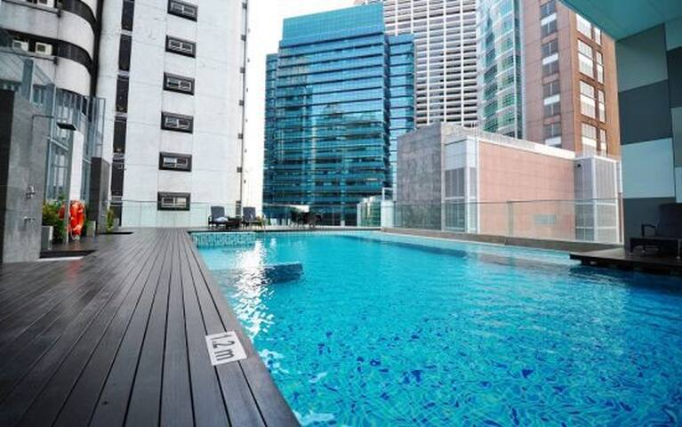 Spacious, Modern Singapore CBD Apartment - Singapur - Apartament