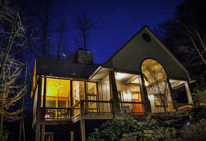 Watia Creekside Retreat - Bryson City - Rumah