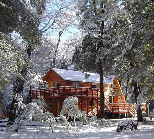 Casa mahuidanche.cl  centro ski Termas de Chillan.