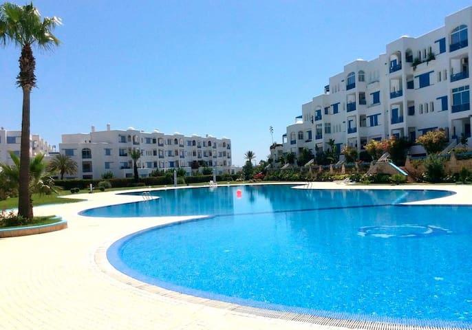 Ferienwohnung/App. für 6 Gäste mit 80m² in JAWHARA SMIR, Mdiq Maroc (121835)