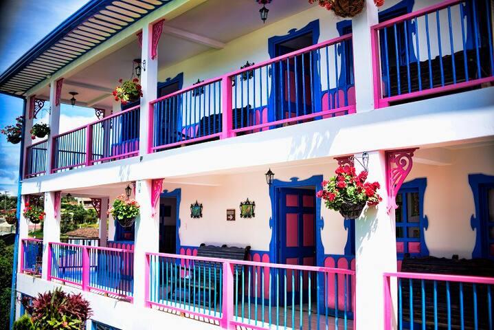 Alojamiento en Salento ¡Hotel el Jardín Salento!