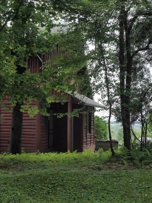 Log House Exterior 2