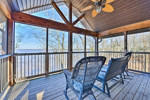 Secluded High Rock Lake Family Home: Private Dock!