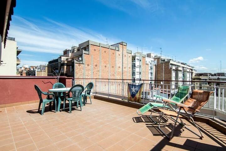Lovely double room near to Sagrada Familia - Barcellona - Appartamento