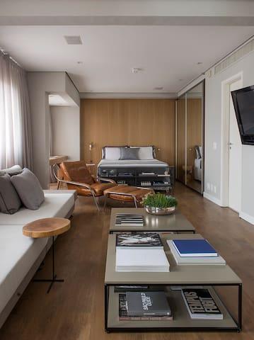 Trendy apartment in Itaim Bibi - São Paulo - Departamento