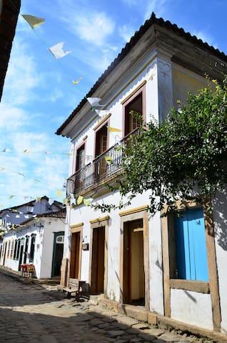 Seja bem vindo ao centro histórico de Paraty - Parati - Pensione
