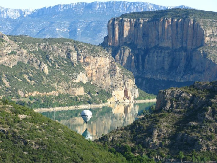 Habitacion  doble Montsec  en Camarasa