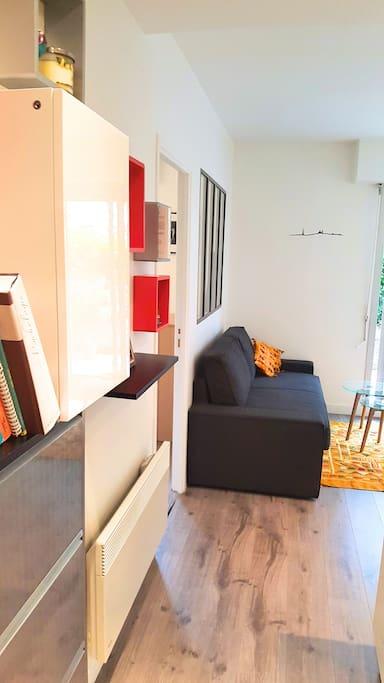 Bel appart cozy avec terrasse proche m tro appartamenti - Salon de massage boulogne billancourt ...