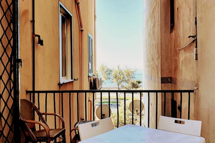 Balcony, Pano, Sea&Sun, SELF-SERVICE & AC + Ebikes