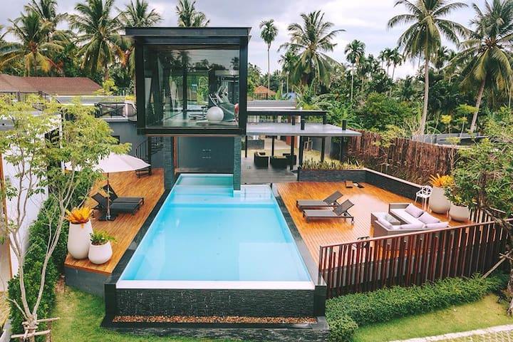 Samui Grand Park Villa -  3 king beds - Toucan