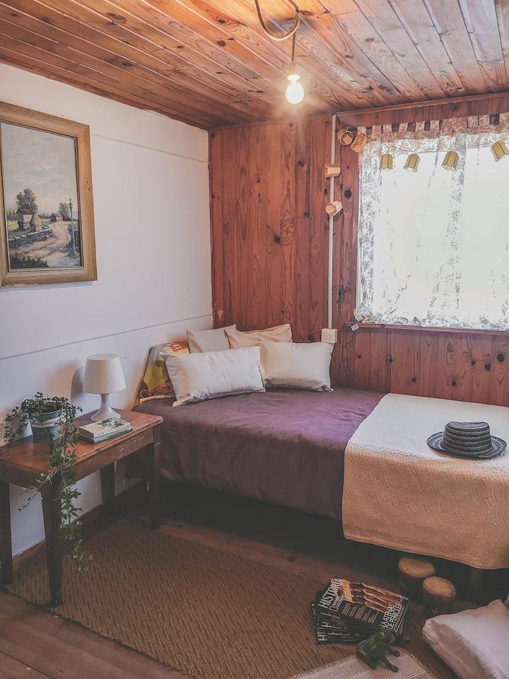 Un respiro: Habitación privada en plena Naturaleza