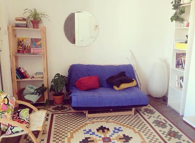 Amplia habitación en Ruzafa - València - Apartament