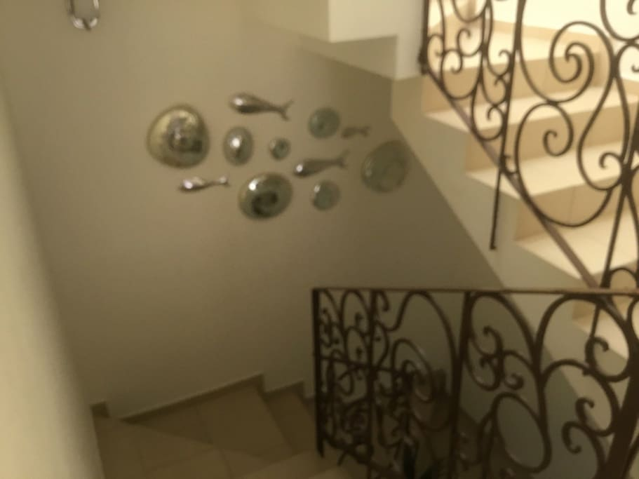 going downstairs