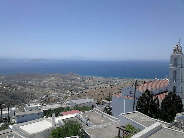 WITH MOUNTAIN AND SEA VIEW - Arnados - Ev