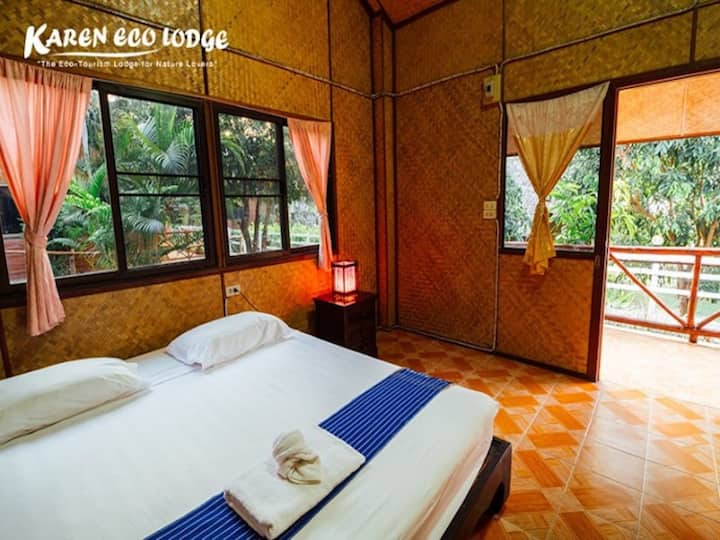 Thai Northern-style Room at the unique eco lodge