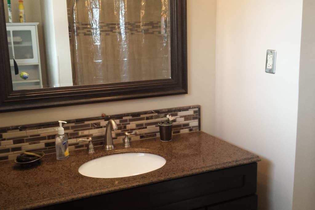 Your bathroom during your stay!