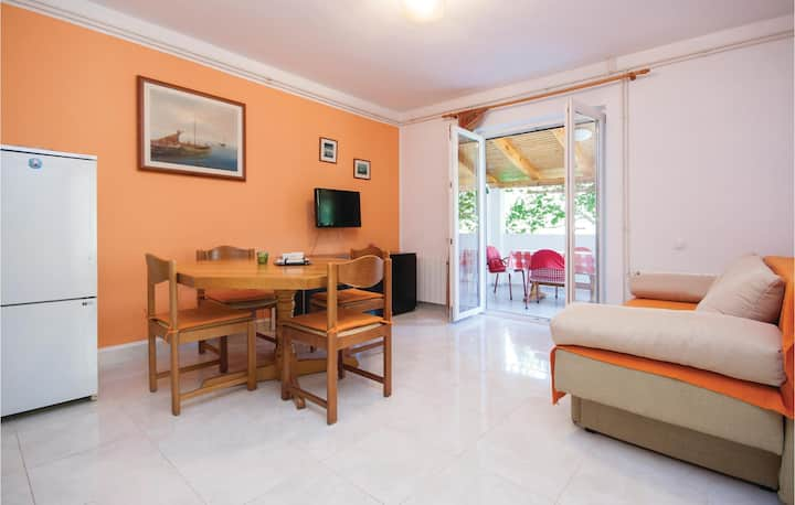 Stunning home in Vodice with WiFi and 1 Bedrooms