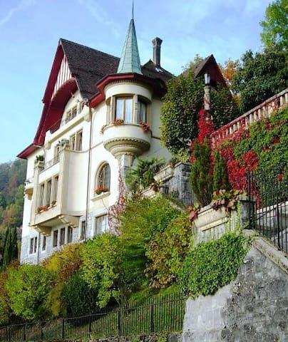 B & B Résidence Castel Les Chênes - Montreux - Penzion (B&B)