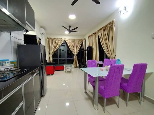 6+2guest 2room Corner full unit cook wash Autin JB