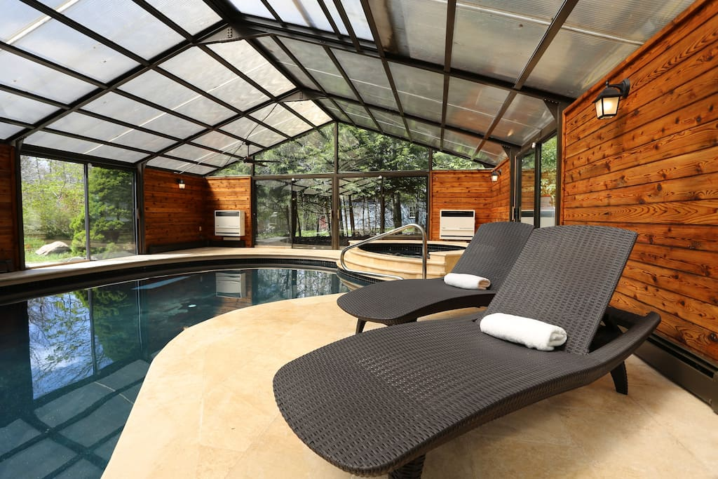 Pool, chaise lounge.