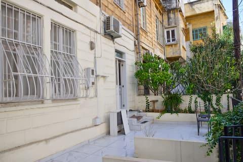 Modern 1-bedroom Apt w/ terrace in Achrafieh