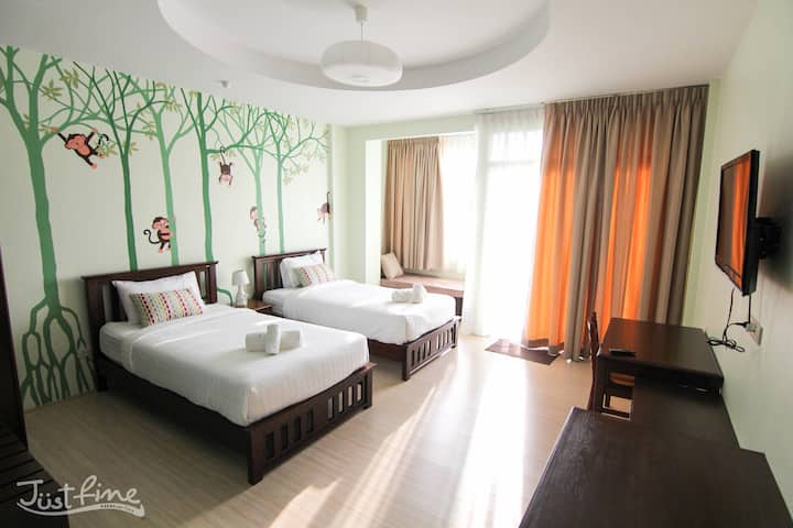 Just Fine Krabi (Twin bed)