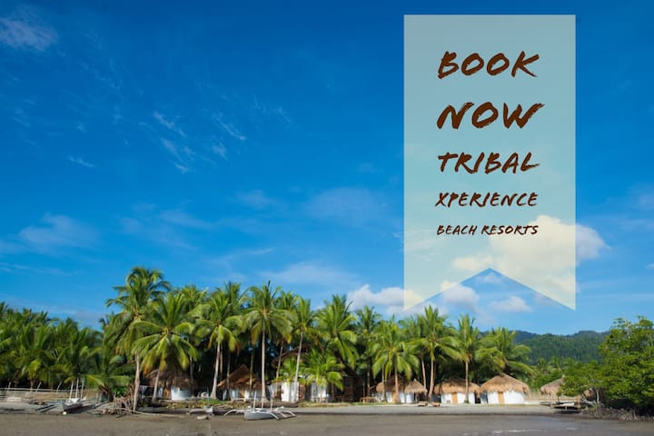 Tribal Xperience Island: 2 Bamboo bunk beds