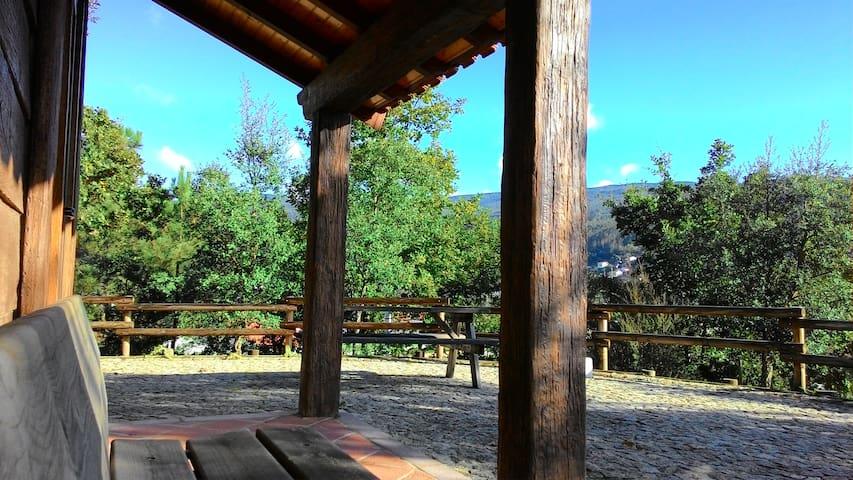 Refúgio da Cascata da Cabreia - Silva Escura - Cabana