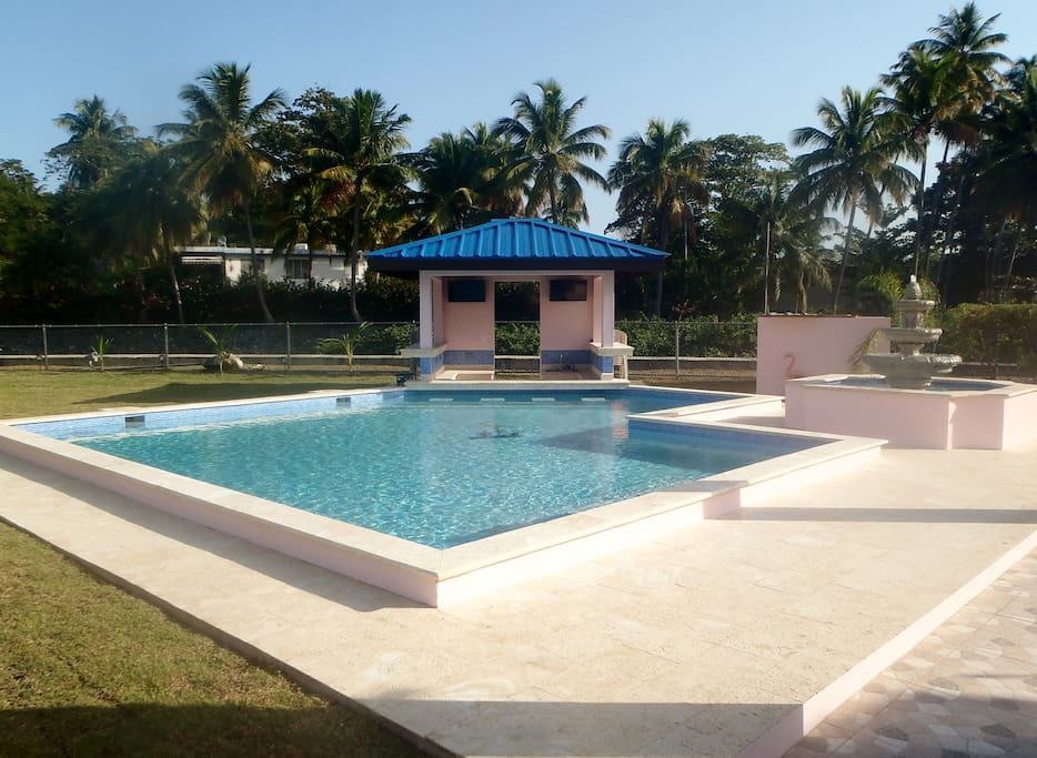 Pool, Pool Bar & Fountain
