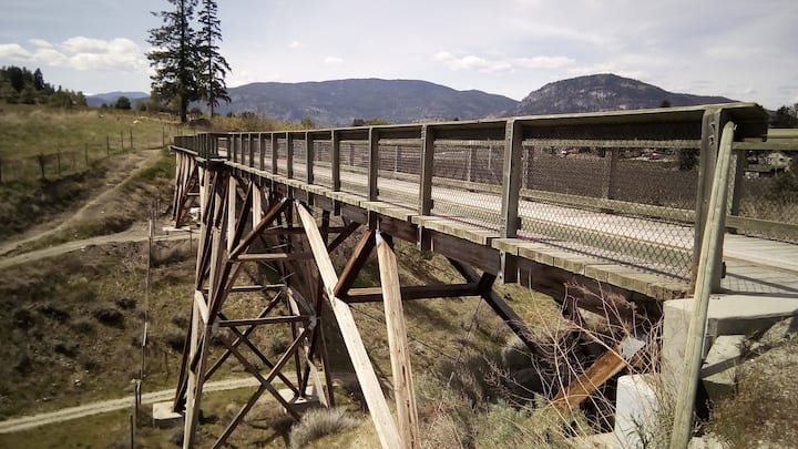 Historic McCulloch Trestle on KVR Trail