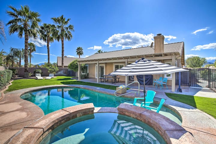 NEW! Private Oasis & Sparkling Clean Pool Home