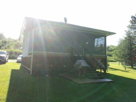 Very private cottage...close to Edmundston NB