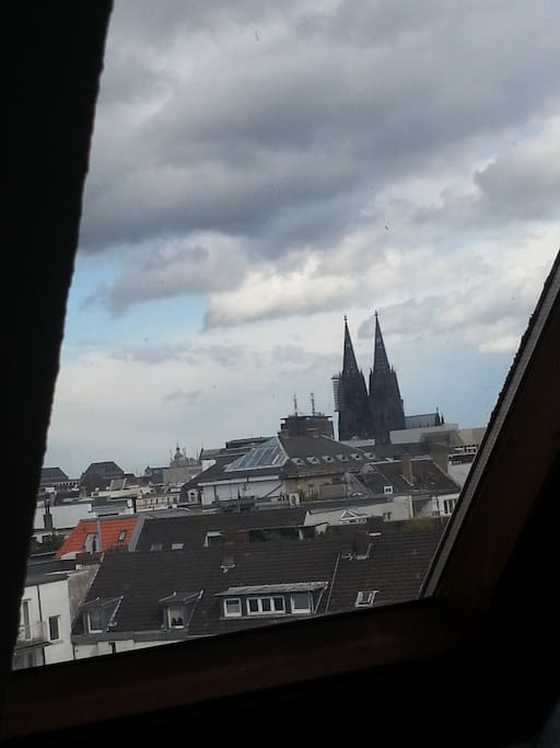 View of the kölner dom from your room