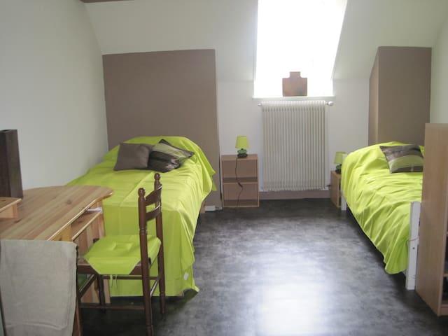 Appartement avec deux chambres pour 6 personnes. - Paray-le-Monial - Wohnung