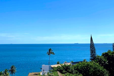 Apart-Hotel com vista mar e piscina