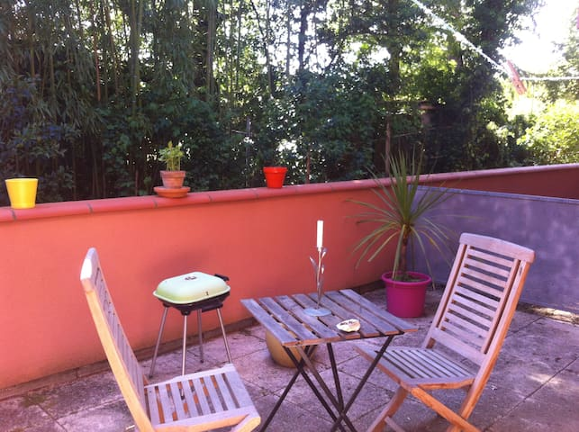 Studio calme avec terrasse - Pessac - Wohnung