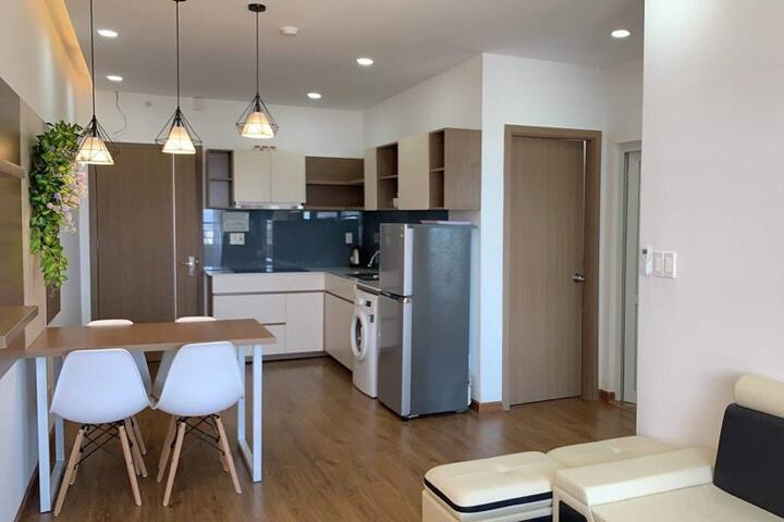 Sea view family Apartment with washing machine